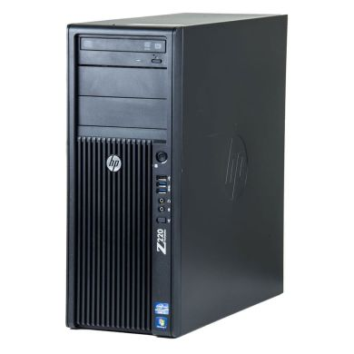 HP Z220 Workstation Tower / Intel® Core™ i7-3770 (4 (8) ядра по 3.40 - 3.90 GHz) / 16 GB DDR3 / 500 GB HDD / Nvidia Quadro 2000 (1GB 128-bit GDDR5)