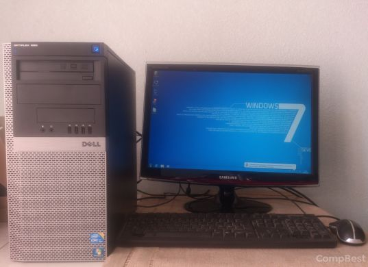 "Dell 980 / Intel Core i5-750 (4 ядра по 3.2GHz) / 6GB DDR3 / 500GB HDD / Radeon HD 7570 1GB GDDR5 128bit + Монитор 22"" / 1680x1050"