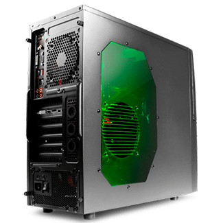 Игровой компьютер на Intel Core i5-7400 / 8GB DDR4 / 1000GB HDD / GeForce GTX 1050 Ti 4GB GDDR5 / БП 600W / 12 мес. гарантия