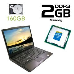 Dell Latitude e4300 / 13.3' / Intel Core 2 Duo T9400 (2 ядра, 2.53GHz) / 2 GB DDR3 / 160 GB HDD / DVD-RW