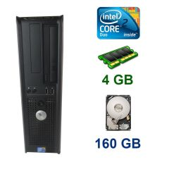 Dell 380 SFF / Intel Core 2 Duo E8400 (2 ядра по 3.0 GHz) / 4 GB DDR3 / 160 GB HDD