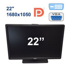 "Dell P2213 / 22"" (1680x1050) TFT TN LED / DP, VGA, DVI, USB"