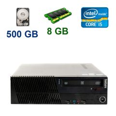 Lenovo ThinkCentre M92p SFF / Intel Core i5-3470 (4 ядра по 3.2 - 3.6 GHz) / 8 GB DDR3 / 500 GB HDD