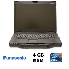 "Защищённый ноутбук Panasonic Toughbook CF-52 mk3 / 15.4"" / Intel® Core™ i5-520M (2 (4) ядра по 2.4 - 2.93 GHz) / 4GB DDR3 / 160GB HDD"
