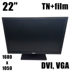"Dell P2210f / 22"" (1680x1050) TN+film / DVI, VGA"