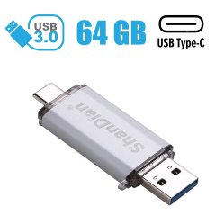 Флешка на 64GB / USB 3.0 / USB Type-C