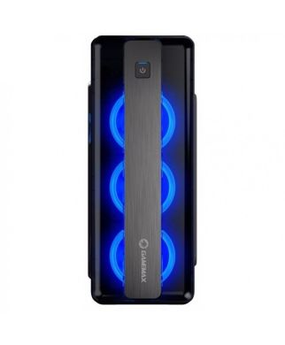 GameMax Moonlight-B Blue Tower / Intel® Core™ i5-7400 (4 ядра по 3.0 - 3.5 GHz) / 16 GB DDR4 / 120 GB SSD+2000 GB HDD / nVidia GeForce GTX 1080 (8 GB GDDR5 256 bit) / 600 W