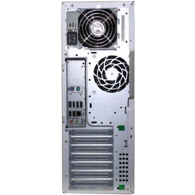 Hewlett-Packard Z400 Tower / Intel Xeon W3565 (4(8) ядра по 3.2-3.46GHz) / 12GB DDR3 ECC / 500 GB HDD / nVidia GeForce GTX 1050 GDDR5 2GB (HDMI, DVI, DP) / БП 475W + лицензионная наклейка  Windows 7 Pro