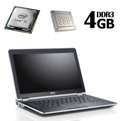 Dell latitude E6220 / 12.5' / Intel Core i5-2520M ( 2(4) ядра по 2.5GHz) / 4GB RAM / 128GB SSD / Intel HD Graphics 3000 / Web-camera