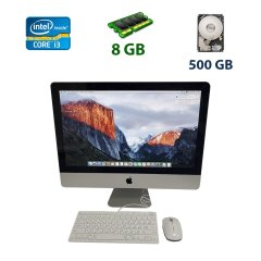 "Apple MC508LL/A/ / 21.5"" (1920х1080) LED IPS / Intel Core i3-540 (2 (4) ядра по 3.06 GHz) / 8 GB DDR3 / 500 GB HDD / ATI Radeon HD 4670, 256 MB, GDDR3 / WebCam iSight"