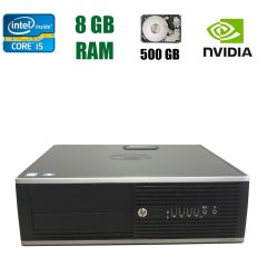 HP Compaq Elite 8300 SFF / Intel Core i5-3470 (4 ядра по 3.20 - 3.60 GHz) / 8 GB DDR3 / 500 GB HDD / nVidia GeForce GT 610 1 GB DDR3