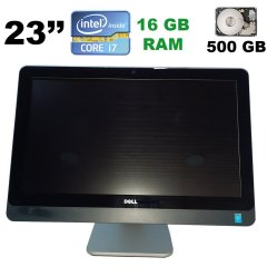 "Моноблок Dell 9020 / 23"" (1920x1080) Touch / Intel Core i7-4770 (4(8) ядра по 3.4 - 3.9 GHz) / 16 GB DDR3 / 500 GB HDD / Intel HD Graphics 4600"