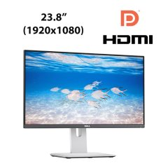 "Dell UltraSharp U2414H / 23.8"" (1920х1080) AH-IPS W-LED / 2x HDMI, 2x DP, 1x PD mini, Audio Ports, USB Hub"
