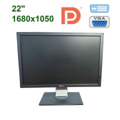 "Dell P2210 / 22"" (1680x1050) TFT TN / DVI, DP, VGA, USB 2.0"