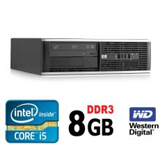 HP 6300 Ellite SFF / Intel i5-2400 (4 ядра, 3.1 GHz, 6MB) / 8GB DDR3 / 500GB HDD / USB 3.0