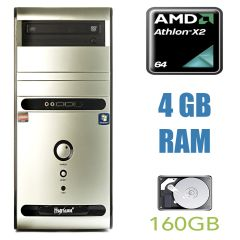 Hyrican PC PCK02992 Tower / AMD Athlon II X2 215 (2 ядра по 2.7GHz) / 4GB RAM / 160GB HDD