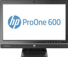 "Моноблок HP ProOne 600 G1 / 21.5"" IPS (1920x1080) / Intel® Core™ i5-4570S (4 ядра по 2.9 - 3.6 GHz) / 4GB RAM DDR3/ 500GB HDD / USB 3.0"