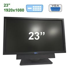 "Dell P2311H / 23"" (1920x1080) TFT LED / DVI, VGA, USB / Portable Acoustic System"