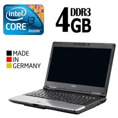 Fujitsu s752 / 14' / Intel Core i3 / 4GB DDR3 / 320GB HDD / Intel HD Graphics 4000