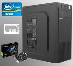Logic Power LP2008 ATX / Intel Xeon E5-2440 (6 (12) ядер по 2.4-2.9 GHz) / 16 GB DDR3 ECC / new 240 GB SSD+500 GB HDD / nVidia GeForce GTX 950 2GB GDDR5 128-bit
