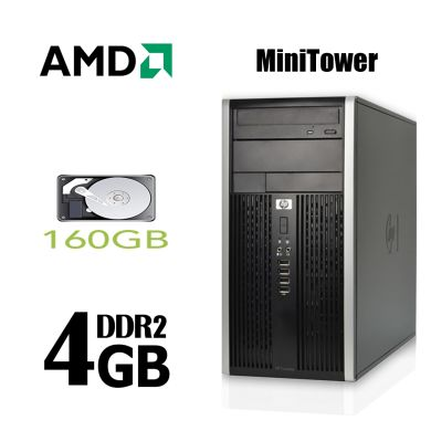 Hewlett-Packard DC5850 Tower / AMD Athlon 5000b (2 ядра по 2.6GHz) / 4GB DDR2 / 160GB HDD