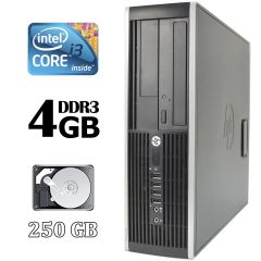 HP Elite 8300 Desktop / Intel® Core™ i3-3220 (2 (4) ядра по 3.30 GHz) / 4 GB DDR3 / 250 GB HDD