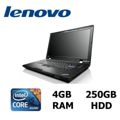 "Ноутбук Lenovo ThinkPad L420 / 14"" / Intel® Core™ i5-2540M (2 (4) ядра по 2.6 - 3.3GHz) / 4GB RAM DDR3 / 250GB HDD"