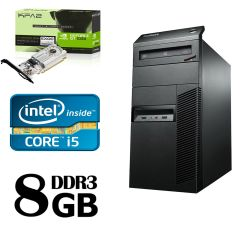 Lenovo m82 Tower / Intel Core i5-3470 (4 ядра по 3.6GHz) / 8 GB DDR3 / 320GB HDD / Новая! GeForce GT 1030 2GB GDDR5
