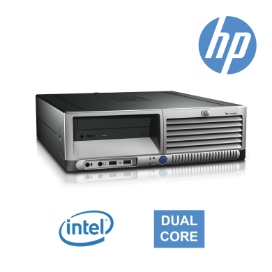 HP Compaq DC7600 (7700) Slim / Intel Dual Core 6300 / DDR II-2GB / 160GB HDD / GeForce GT 730-1GB DDR3