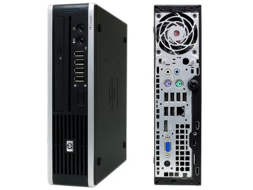 HP 8000 Ellite USFF / Intel Core 2 Quad Q8400 (4 ядра по 2.66GHz) / 4GB DDR3 / 320GB HDD