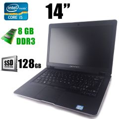"Dell Latitude 6430U / 14"" (1366х768) / Intel® Core™ i5-3437U (2(4)ядра по 1.9 - 2.9GHz) / 8GB DDR3 / new! 128GB SSD / VGA, HDMI, USB 3.0"