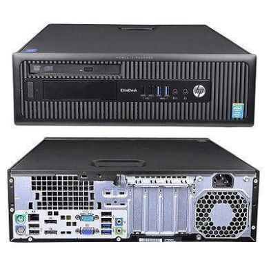 HP EliteDesk 800 G1 SFF / Intel® Core™ i7-4770 (4 (8) ядра по 3.40 - 3.90 GHz) / 4 GB DDR3 / 500 GB HDD / Intel HD Graphics 4600