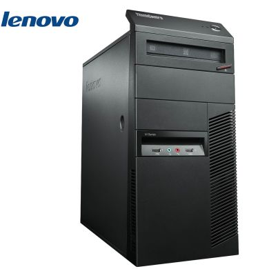 Lenovo ThinkCentre M81 Tower / Intel Core i7-2600 (4 ядра, 8 потоков по 3.40 GHz) / 4GB DDR3 / 250GB HDD / Intel HD Graphics 2000